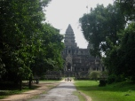 Angkor Wat from the rear entrance
