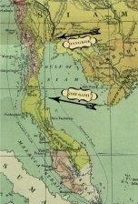 Our journey from Bangkok to Koh Samui, yes we did a loop-dee-loop.
