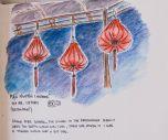 Lanterns at Man Nguyen Restaurant, by Eric