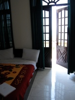 Double Bed Balcony room at the Tide Hotel, Nha Trang