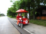 His side car sells ice cream! I'm sold!
