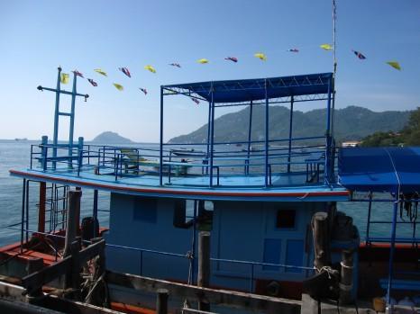 Arriving on Koh Tao