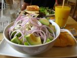 Yummy lunch at Tartine! So good!