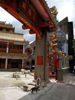 Chinese temple entrance, Chinatown, Bangkok