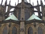 St. Vitus' Cathedral from the back, Prague
