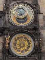 Closeup of the clock face-looks like it was made yesterday!