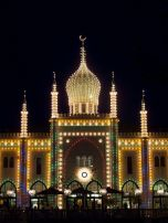Nimb restaurant at Tivoli Gardens {not the Taj Mahal}