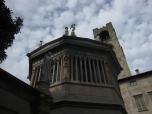 The octagonal Baptistry, Bergamo