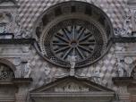Facade of the Church of Santa Maria Maggiore, Bergamo