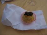 Traditonal Polenta Cake of Bergamo, so adorable. Undercover sugar bomb though.