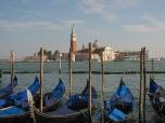 Gondolas and San Giorgio Maggiore, Venice