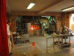 Inside the Glassblowers Workshop, Murano