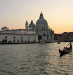 The Grande Canale at sunset