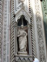 Statue of Santa Maria del Fiore, otherwise known as The Virgin Mary or Mary of the Flowers
