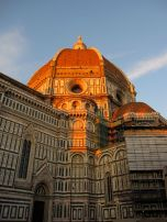 Sunset at Santa Maria del Fiore, Florence