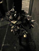 Ponte Vecchio- laden with locks