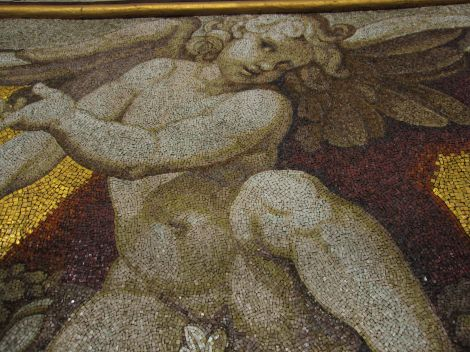 Up close and personal with cherubs, St. Peter's Basilica, Vatican City