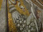 Mosaics in the domes of St. Peters Basilica, Vatican City