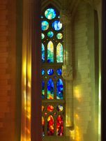 Stained Glass Windows and shadows