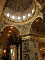Inside St. Peter's Basilica, Vatican City