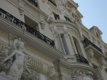 Facade of the Hotel de Paris next to the Monte Carlo Casino