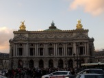 Opera Garnier, we tried to visit but the theatre was closed for rehearsals so we decided to come back later.