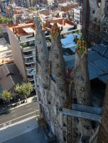 Fruit topped towers at the Sagrada Familia