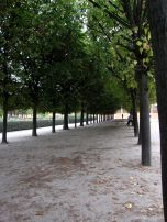We walked from our house to the Palais Royal, on the way to the Opera. This is the Jardin du Palais Royal