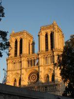 Notre Dame via the Bateau Mouche