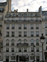Just your average old beautiful apartment building in Paris