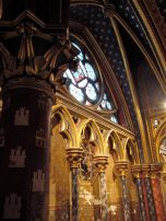 Altar section of Sainte Chapelle's first floor