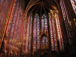 Sunshine in Sainte Chapelle