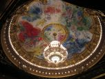 Chagall ceiling at Opera Garnier