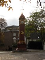 Clock tower in Highbury, Islington