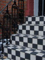 Checkerboard steps