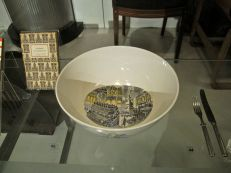 Commemorative London bowl featured in the Modern Design section