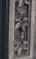 Detail of the window engravings