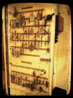 A door storing all the War Rooms keys...