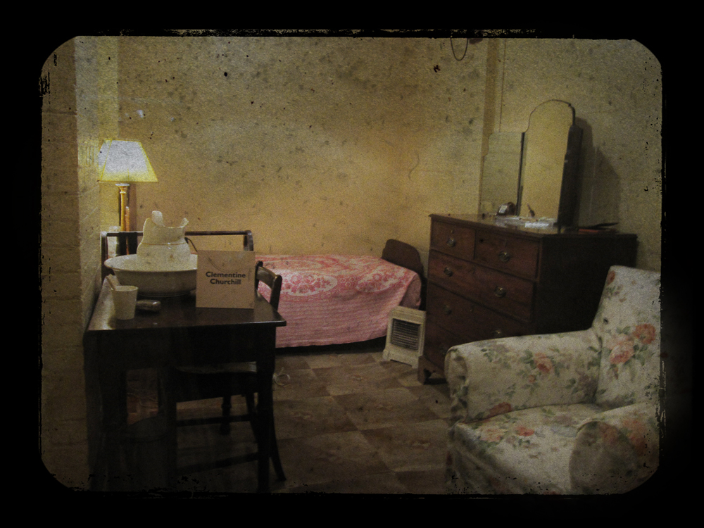 Churchill Cabinet War Rooms British Headquarters Of Wwii