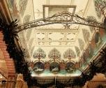 Art nouveau-esque ceiling