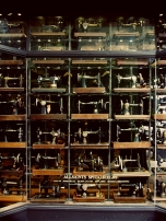 Gorgeous All Saints window full of vintage sewing machines. I fell in love and went snap happy.