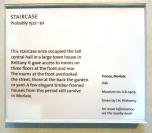 Info on the staircase