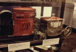 Royal Mail Box and Royal Carriage vintage tins