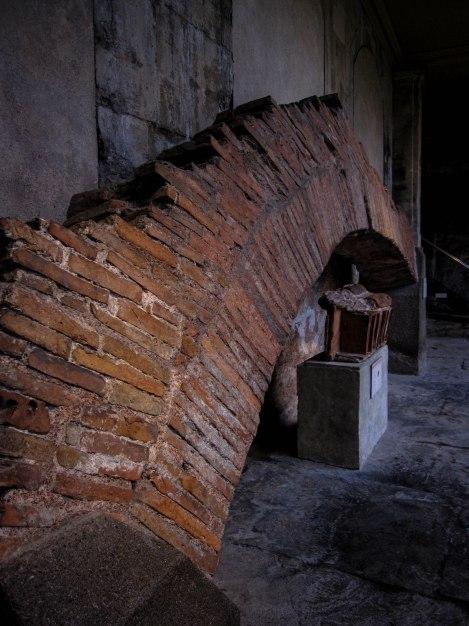 Original Brick Arch from Roman Era