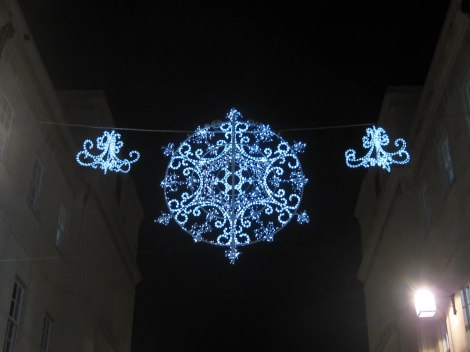 Snowflake Lights in Bath