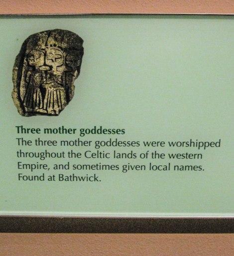 Description of the Three Goddesses